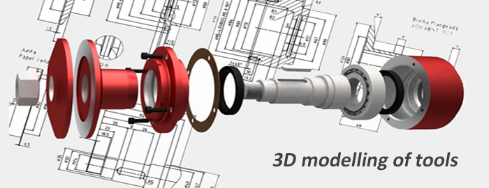 Modelling service - Model tools - Drawings 3D - 3D files from 2D documents and plans